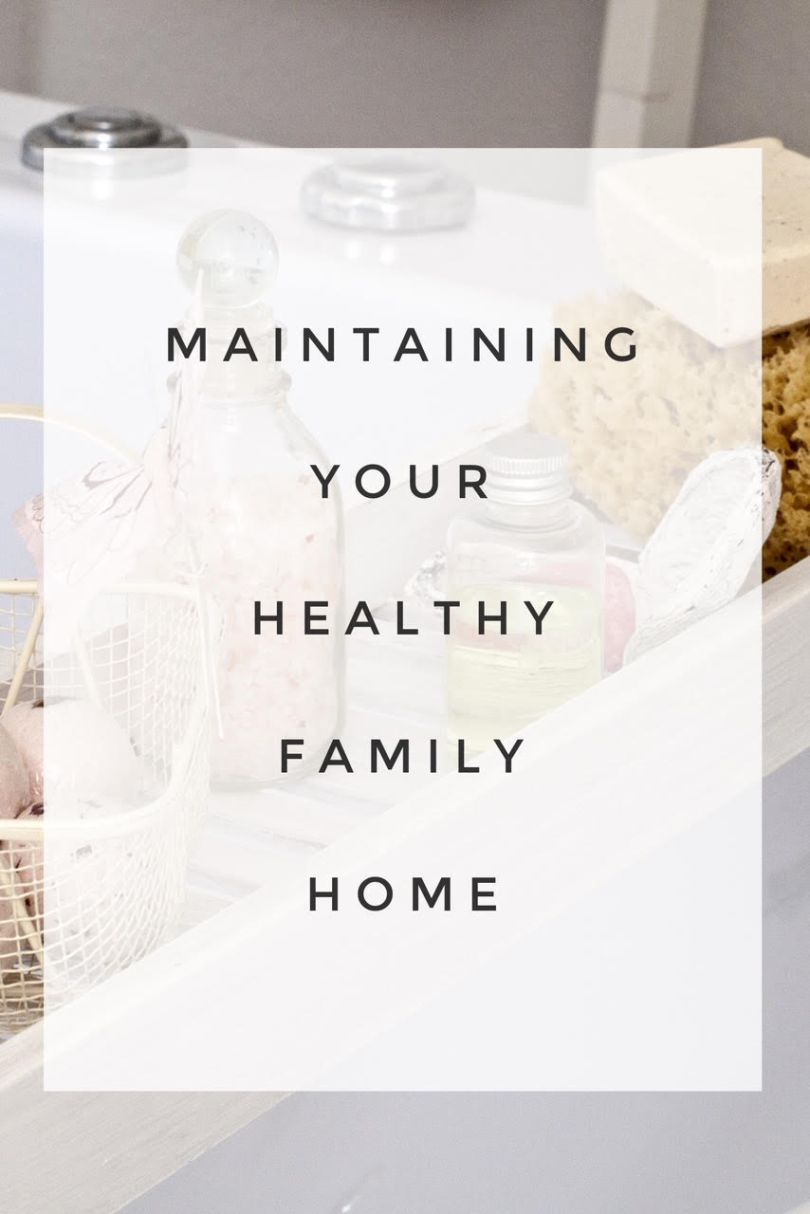 Maintaining a healthy family home. Evaluate your family's health and your home's health annually. #IAQbyAprilaire