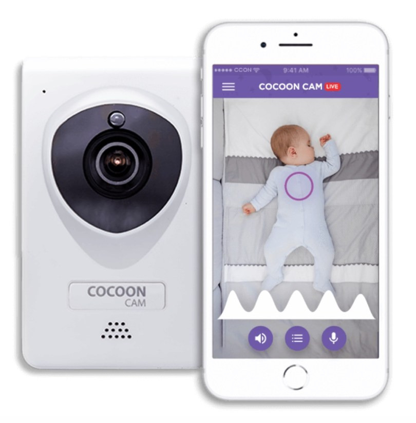 Cocoon Cam baby monitor with breathing monitor