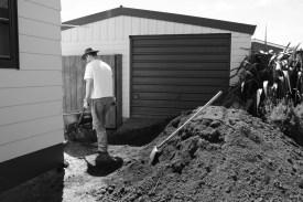 Moving soil