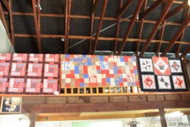Quilts inside