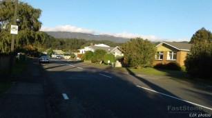 Street in Upper Hutt