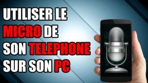 micro téléphone pc tablette microphone