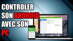 contrôler android airdroid depuis un pc à distance sms