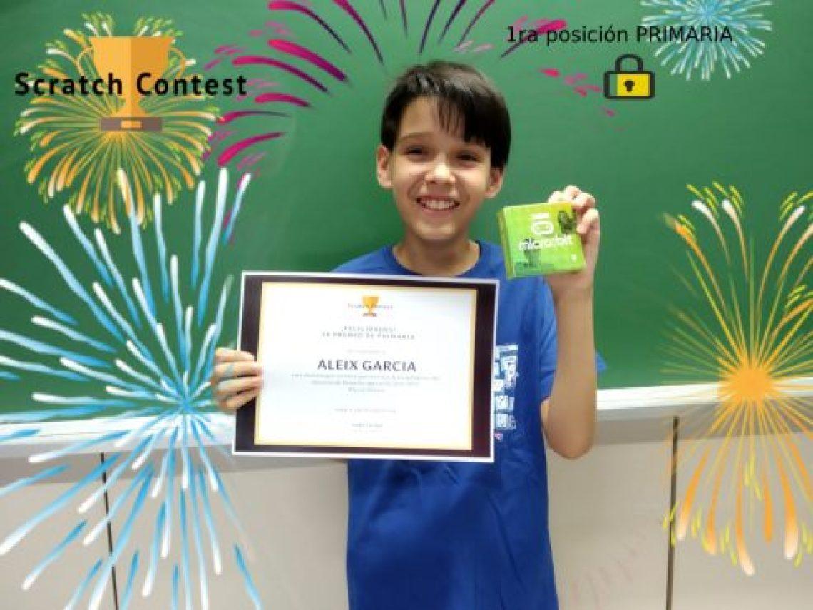 Aleix Garcia Scratch Contest 1r premi