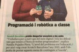 Scratch Barcelona Mochi Card Vanguardia