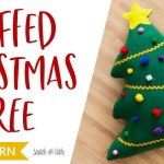 Stuffed Christmas Tree Sewing Pattern On Scratchandstitch Com