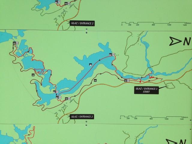 Plitvice kaart