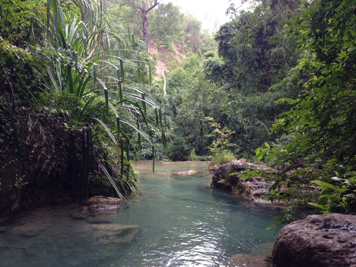 Erewan waterfall Thailand