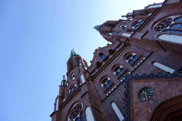 Warsaw church