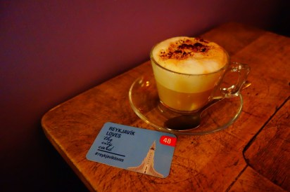 Reykjavik city card coffee