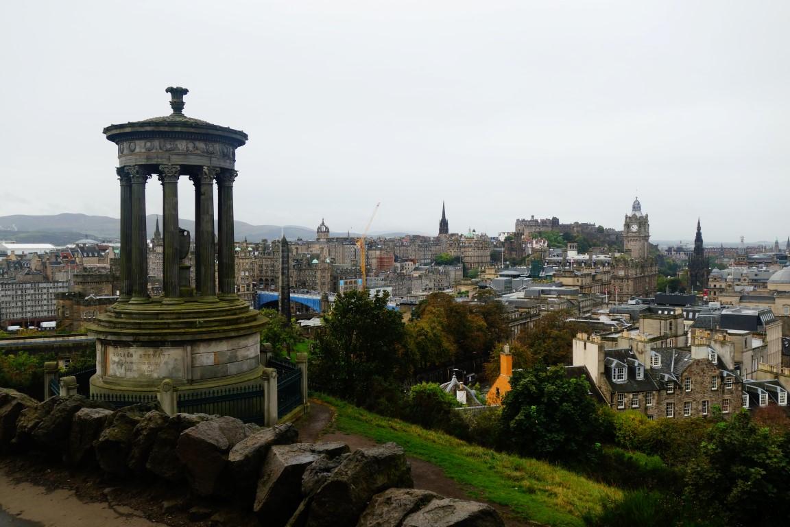 Edinburgh uitzicht