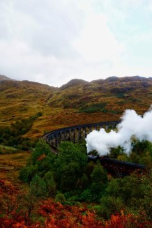 Glenfinnan viaduct Jacobite