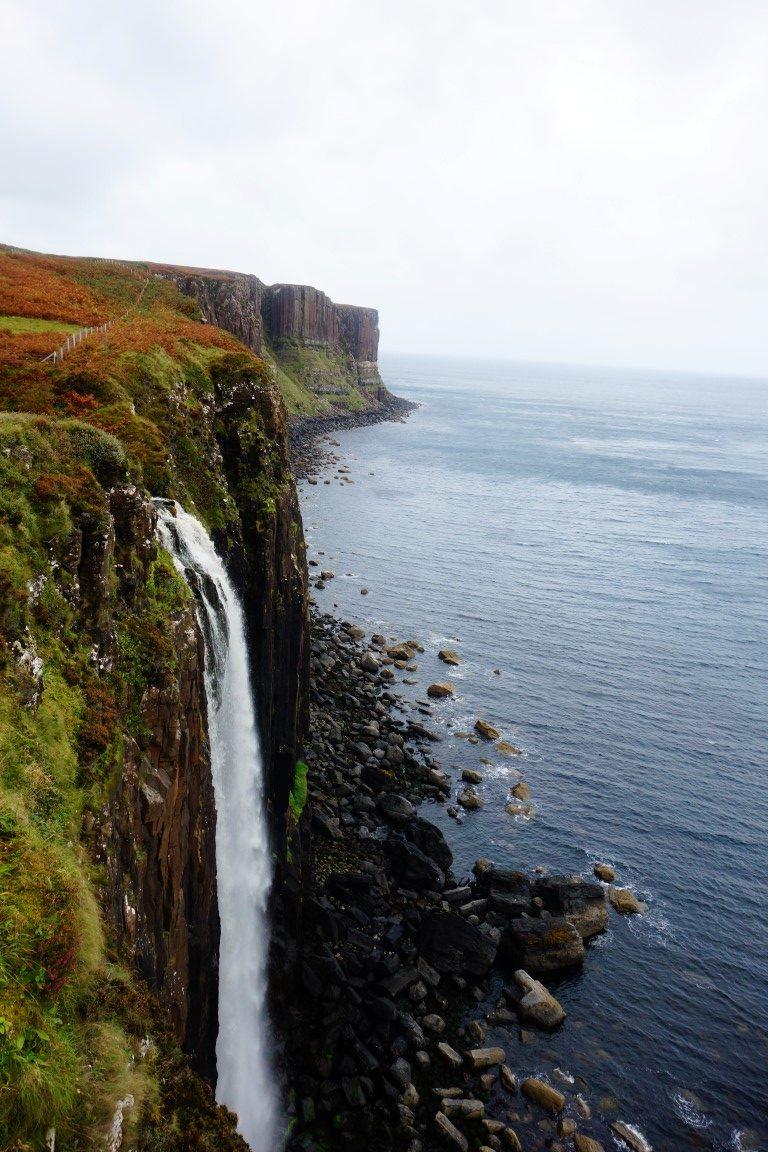 waterval Isle of Skye Schotland