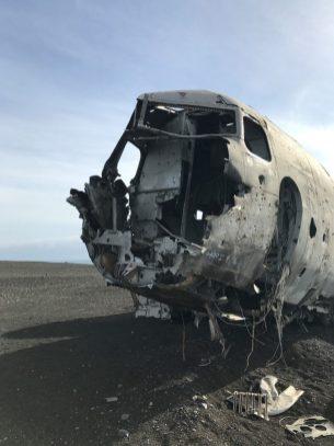 vliegtuigwrak IJsland