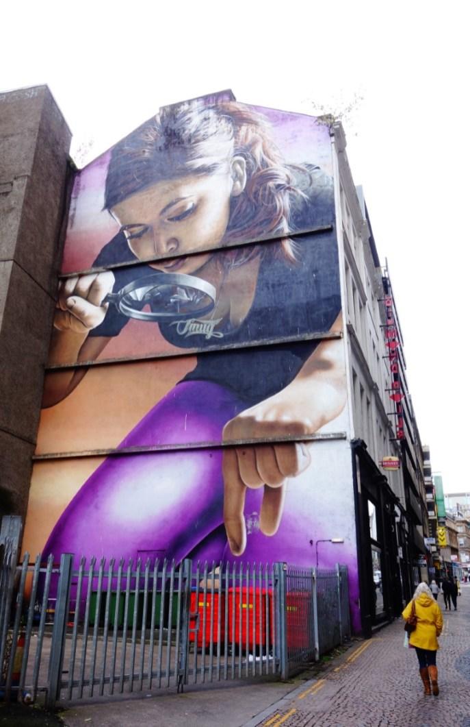 weekend Glasgow streetart