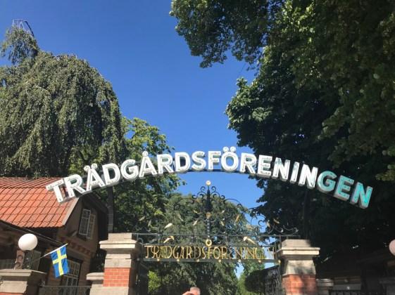 Citytrip Gotenburg Tradgardsforeningen
