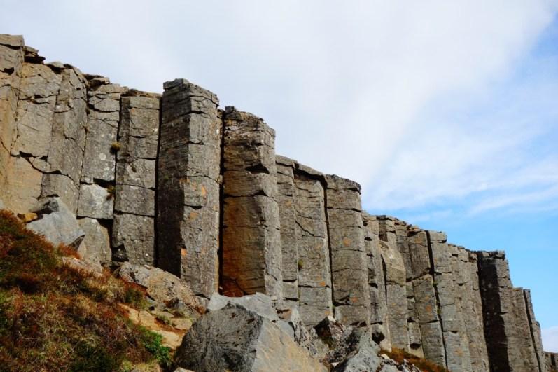 Schiereiland Snaefellsnes Gerduberg Basalt Columns