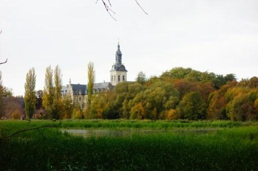 Leuven Abdij van het Park herfst