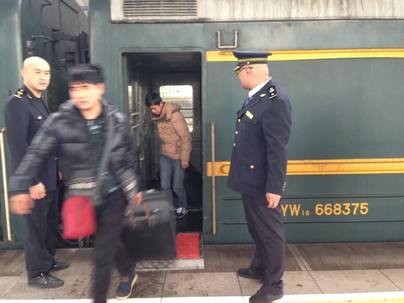 Transmongolie express Beijing