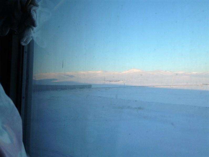 Transmongolie express winter