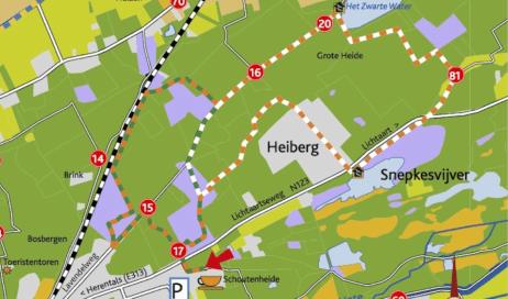 Belgie wandelen Herentals