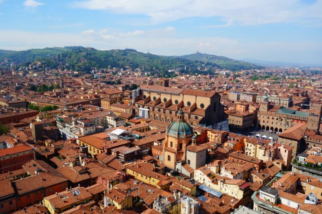 Cityguide Bologna uitzicht