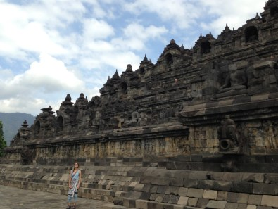 Route Indonesie Borobudur 1