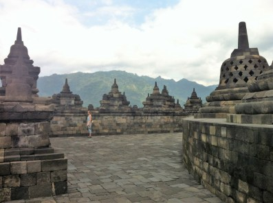 Route Indonesie Borobudur 10