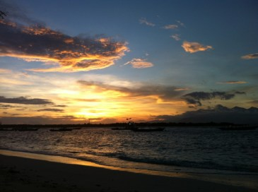 Route Indonesie Gili Trawangan sunrise 3