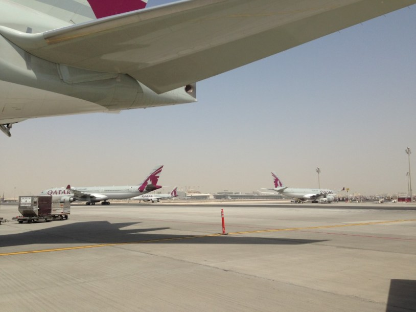 Vlucht Qatar Airways