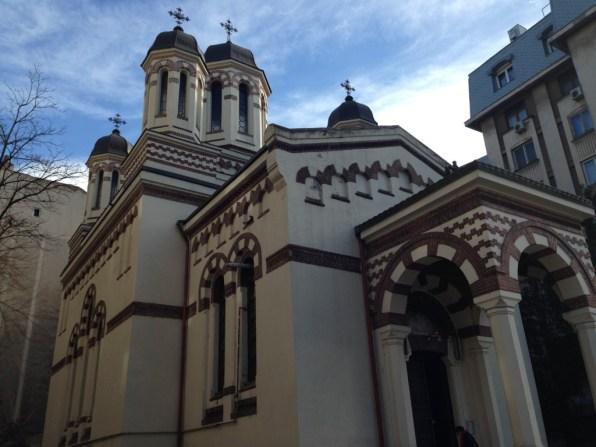 Boekarest St-Ciprian Zlatari kerk