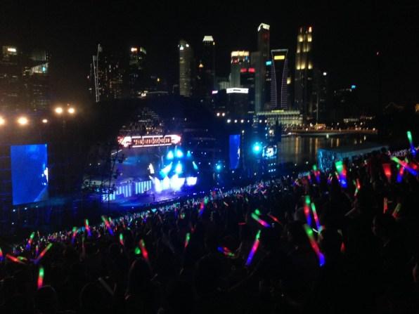 Singapore oudjaar Rock On