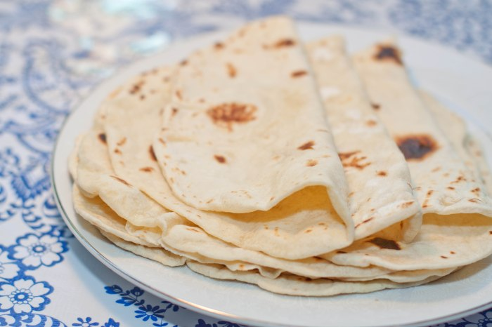 From Scratch soft, delicious, and EASY flour tortillas