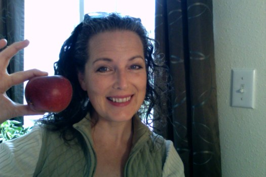 Wild Apples bring a smile to my face.