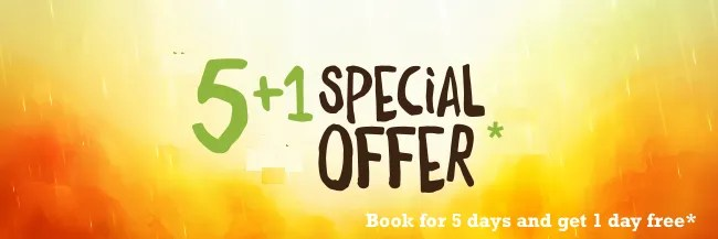 Book 5 days on one of our Auckland School holiday programmes and get one day free