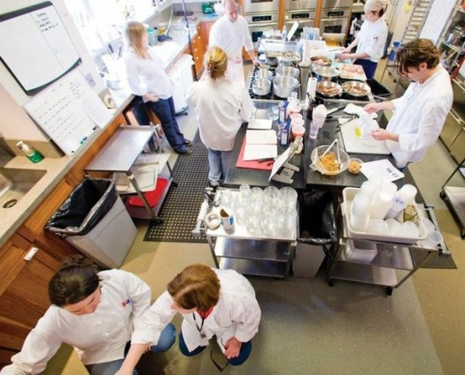 america's test kitchen busy from above