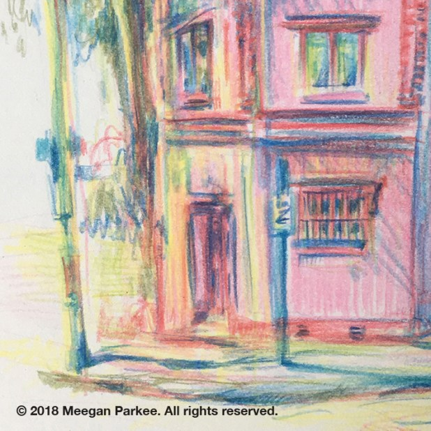 Colour_pencil_on_location_Canterbury_1_close_up