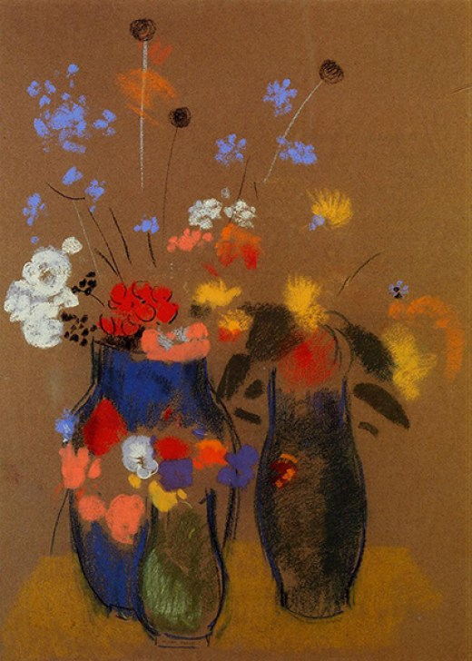 Three Vases of Flowers private athenaeum 2