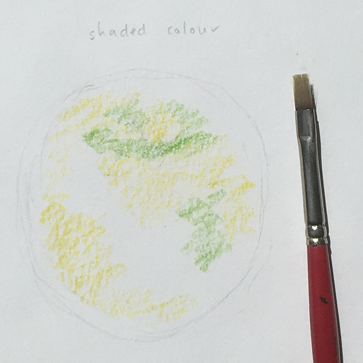 Inktense_apple_shaded_colour_dry_with_brush