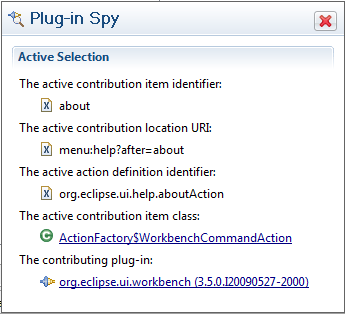 plugin Spy popup