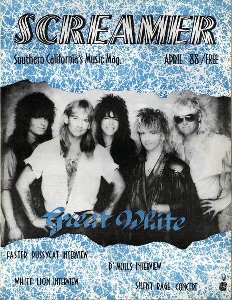 Screamer Magazine April 1988