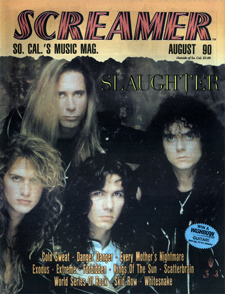 Screamer Magazine August 1990