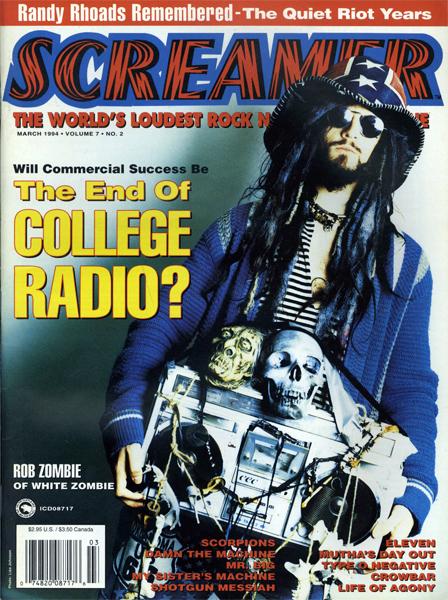 Screamer Magazine March 1994