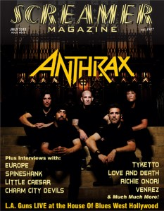 Screamer Magazine July 2012