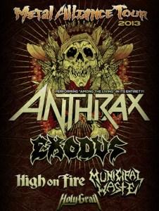 Metal Alliance Tour Art