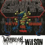 gwar - fate or chaos tour
