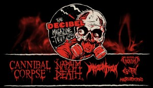 Decibel Magazine Tour 2013