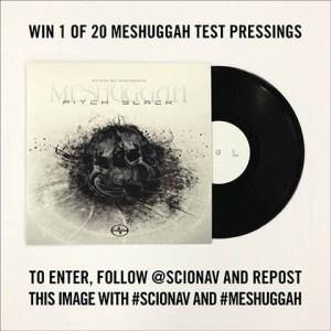 meshuggah test pressing