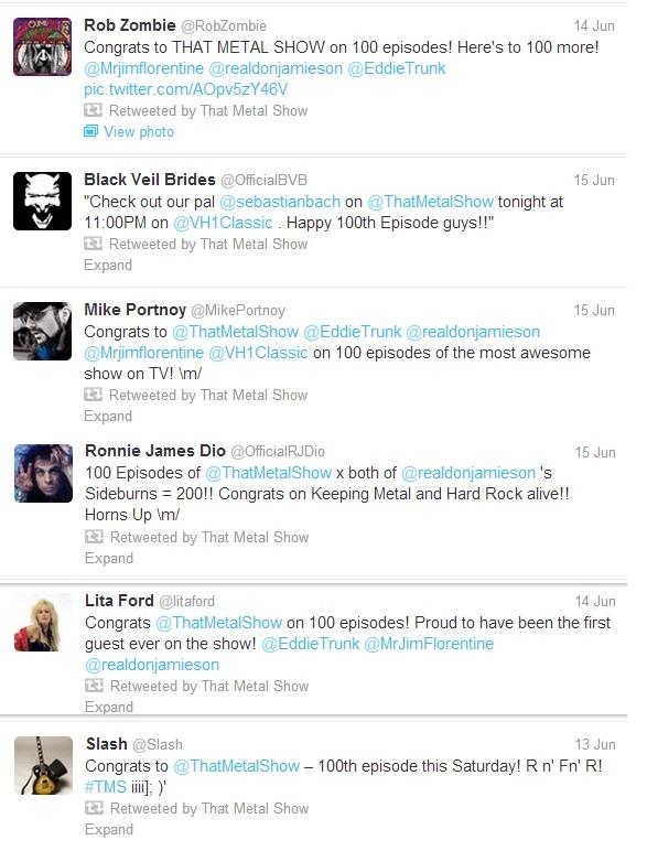 100 Episode Twitter