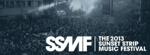 Sunset Strip Music Festival 2013